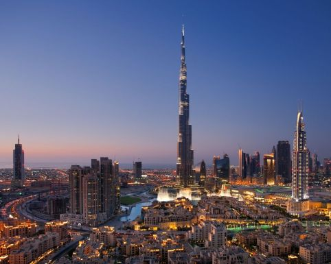 Burj Khalifa, Dubai, Middle East [traveler's choice#1]