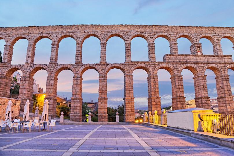 Spain Aqueduct of Segovia